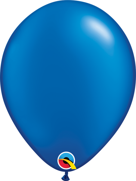 Ballon >>BLAU - METALLIC<<