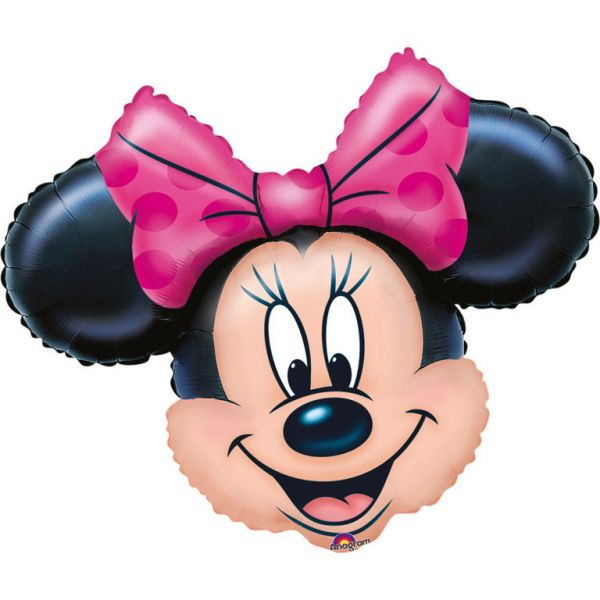 Ballon >>MINNIE MOUSE XXL - HEAD<<