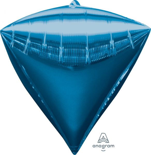 Ballon >>DIAMANT - BLAU<<