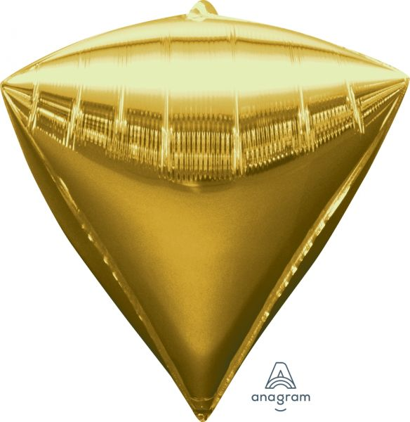 Ballon >>DIAMANT - GOLD<<