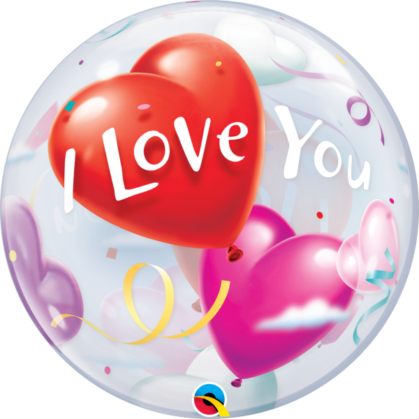 Ballon >>HEART OF LOVE<<
