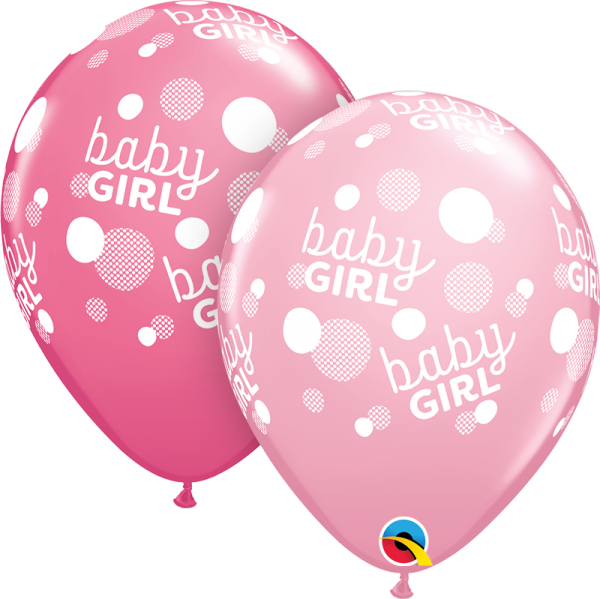 Luftballon >>BABY GIRL<<