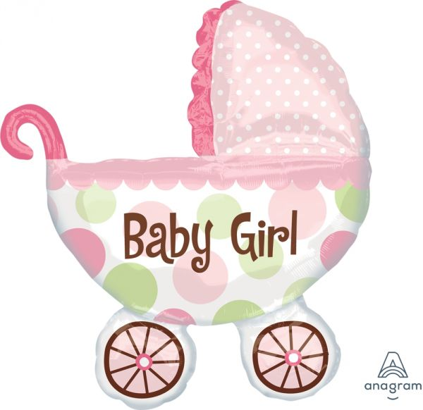 Ballon >>BUGGY - BABY GIRL<<