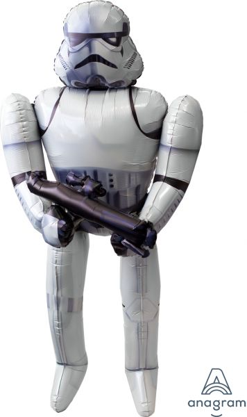 XXL Air-Walker Ballon >>STAR WARS - STORM TROOPER<<