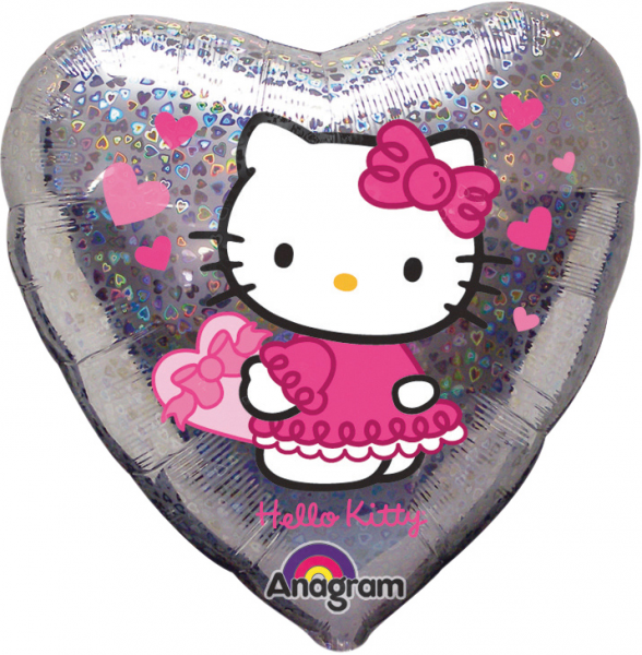 Ballon >>HELLO KITTY HERZ<<
