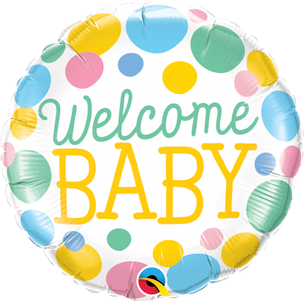 Ballon >>WELCOME BABY<<