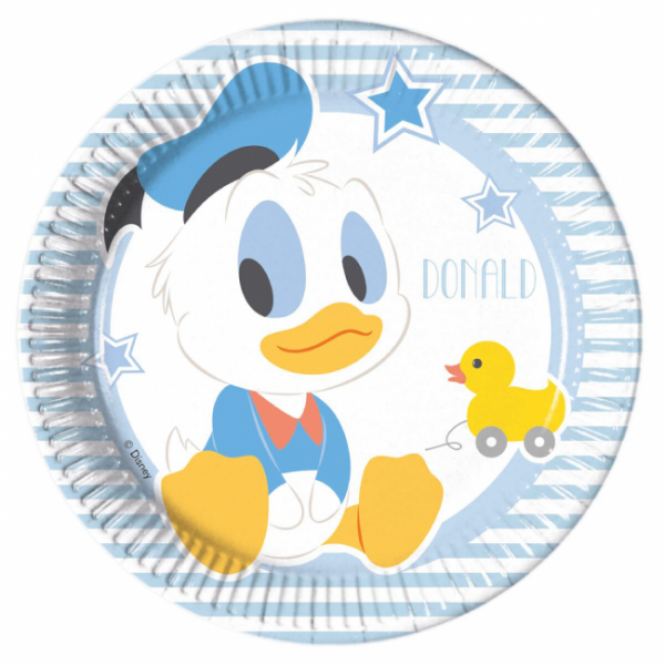 Papp-Teller >>DONALD DUCK - INFANT<<