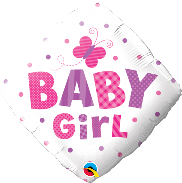 Ballon >>DIAMANT - BABY GIRL<<