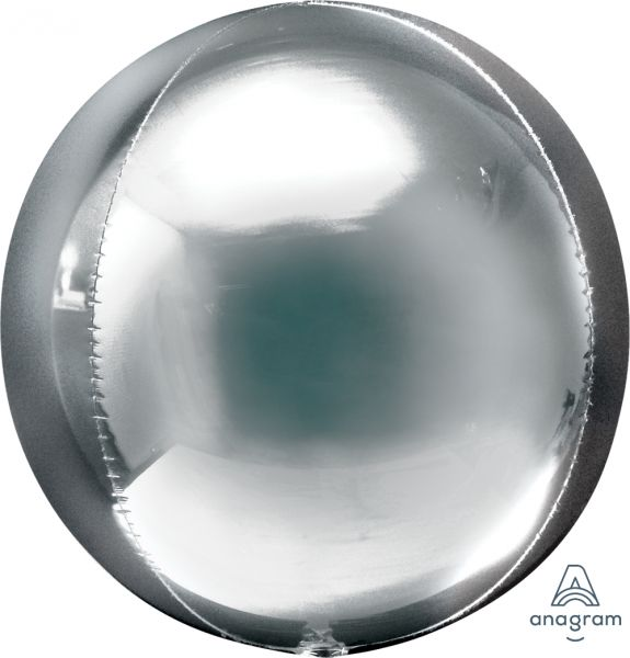 Ballon >>BUBBLE - SILBER<<