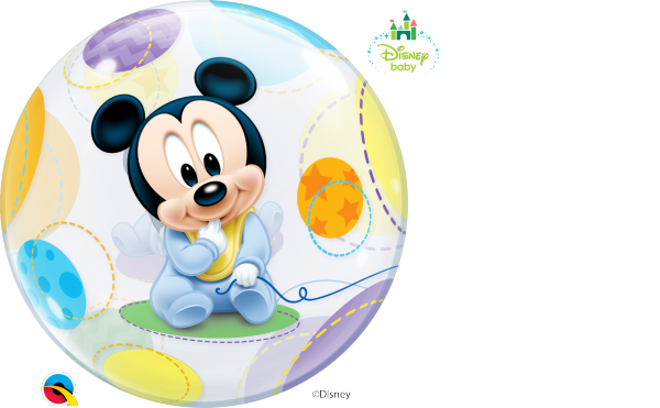 Bubble Ballon >>MICKEY MOUSE BABY<<