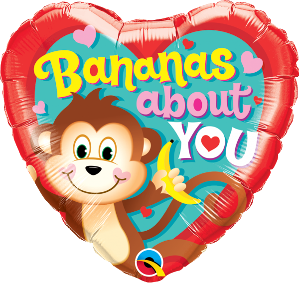 Ballon >>BANANAS ABOUT YOU<<