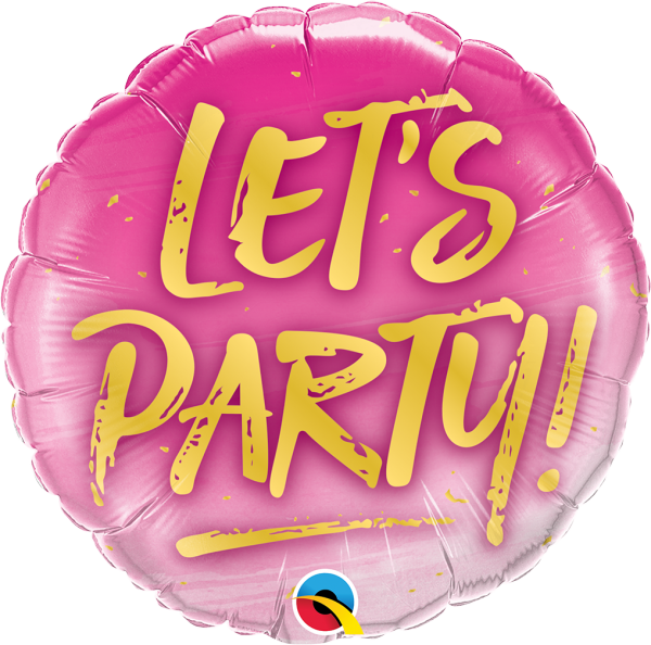 Ballon >>LET'S PARTY!<<