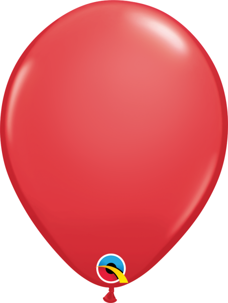 Ballons >>ROT - PASTELL<<