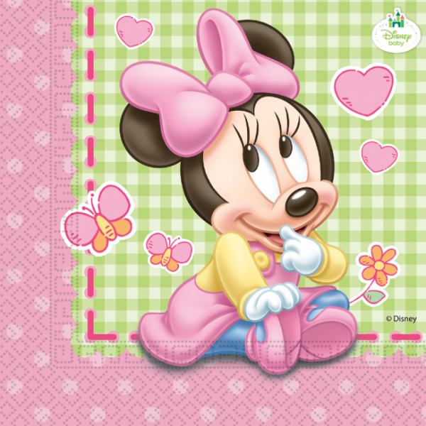 Servietten >>BABY MINNIE - INFANT<<